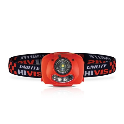 UniLite HV-H3 Hivis LED Head Torch with Infrared Control