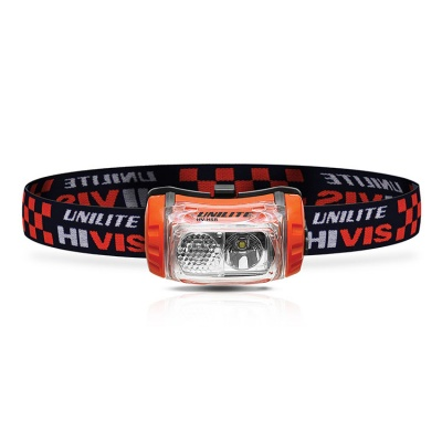 UniLite HiVis HV-H5R USB Rechargeable Head Torch