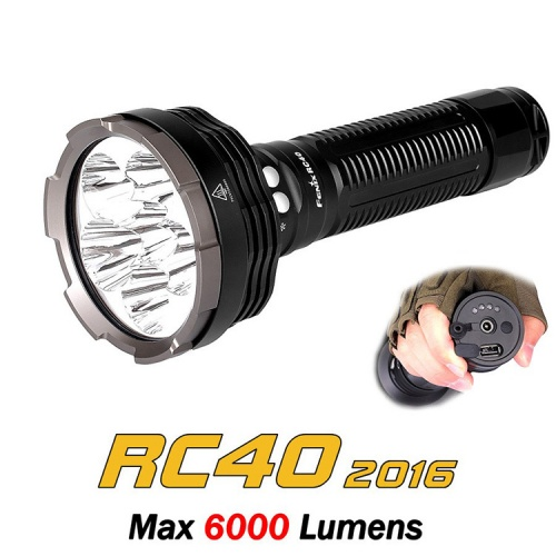 Fenix RC40 2016 Edition Rechargeable LED Torch