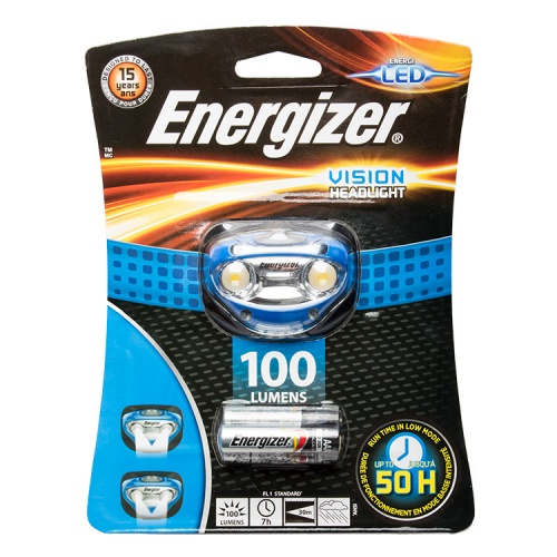 Energizer Vision LED Head Torch