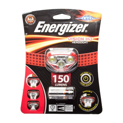 Energizer Vision HD LED Head Torch