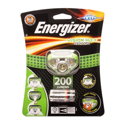 Energizer Vision HD+ LED Head Torch
