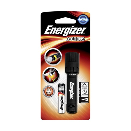Energizer X-Focus 1 Cell AAA LED Torch
