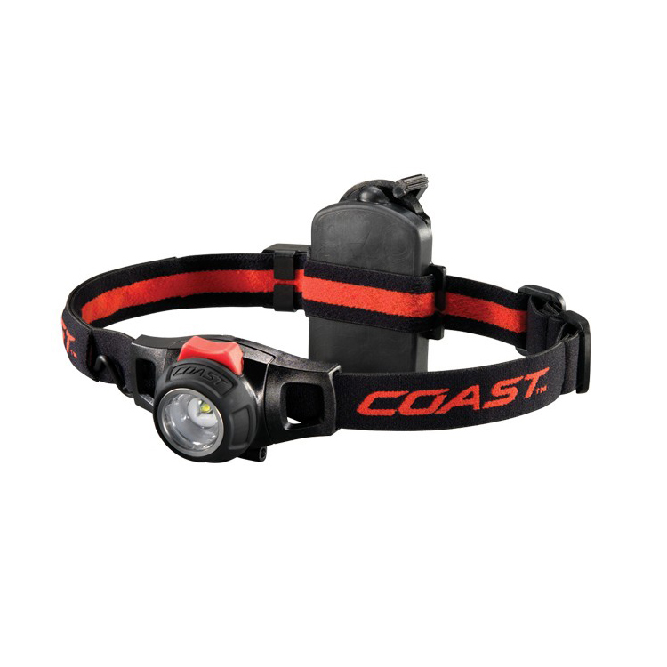 Rechargeable head torch running