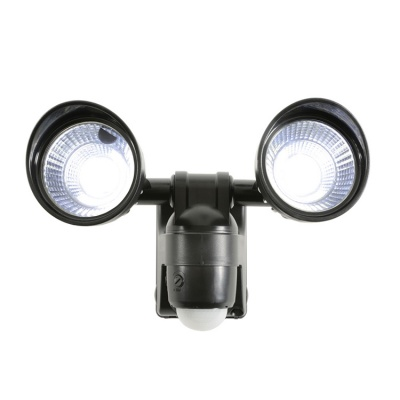 LYYT Motion Sensor Twin LED Flood Light