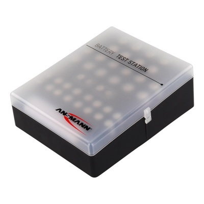 Ansmann 48 Piece Battery Box with Battery Tester