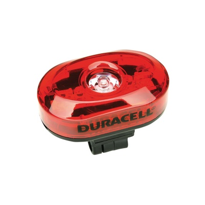 Duracell Rear Red LED Bike Light
