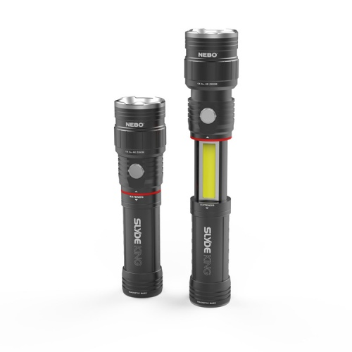 NEBO Slyde King Rechargeable LED Torch & Lantern