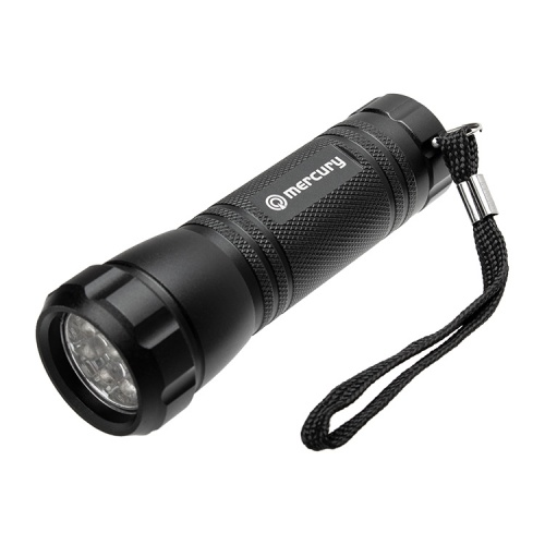 9 LED Ultraviolet (UV) Torch (365 nm)