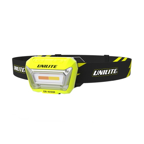 UniLite CRI-H200R Rechargeable Sensor LED Head Torch
