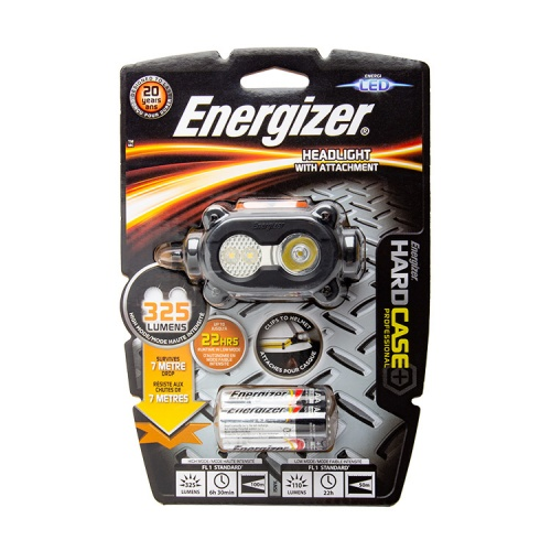 Energizer Hard Case Pro 3 AA LED Head Torch