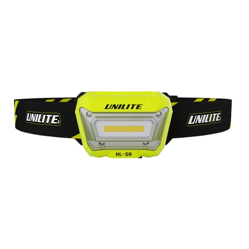UniLite HL-5R Rechargeable Sensor LED Head Torch
