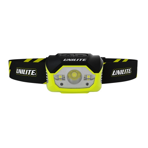 UniLite HL-7R Rechargeable Sensor LED Head Torch