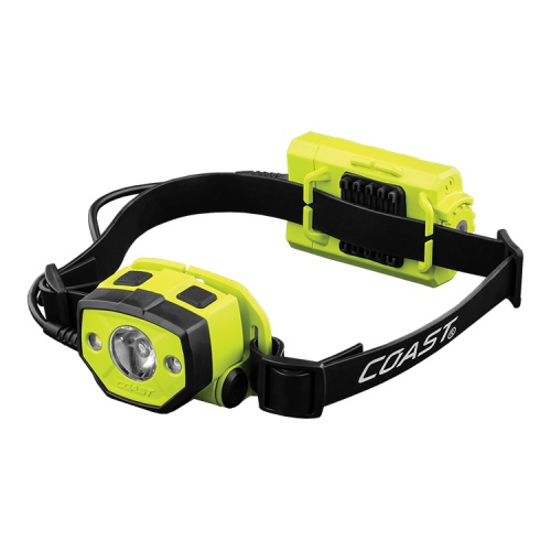 Coast HZ025 ATEX Intrinsically Safe Zone 0, Dual Colour LED Head Torch