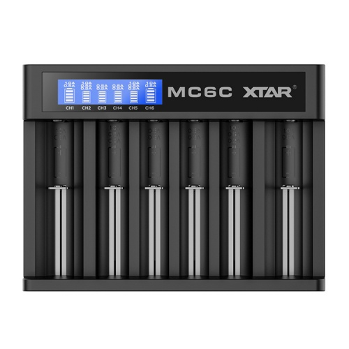 Xtar MC6C Six Bay Lithium-ion Battery Charger