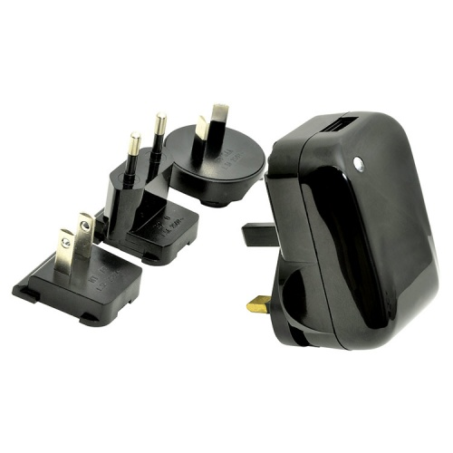 Travel USB Mains charging Adaptor