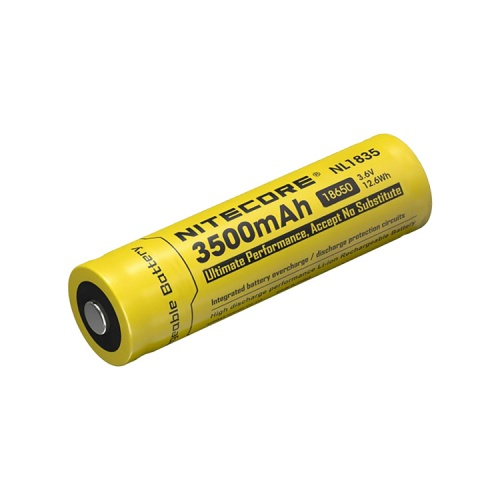 Nitecore 18650 3.6 V, 3500 mAh Lithium-ion Protected Battery (NL1835)