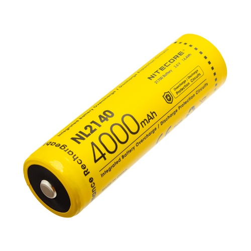 Nitecore 21700 3.6 V, 4000 mAh Li-ion Protected Battery