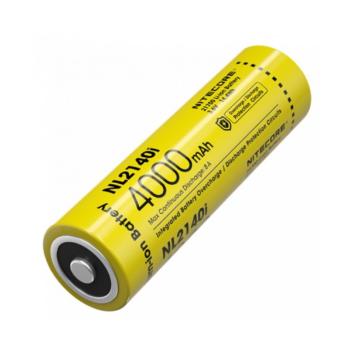Nitecore 21700 i Series 4000 mAh Lithium-ion Protected Battery (NL2140i)