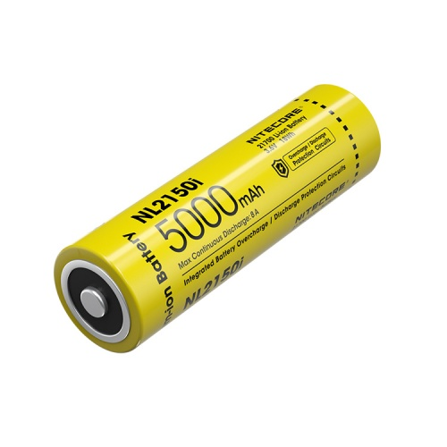 Nitecore 21700 i Series 5000 mAh Lithium-ion Protected Battery (NL2150i)