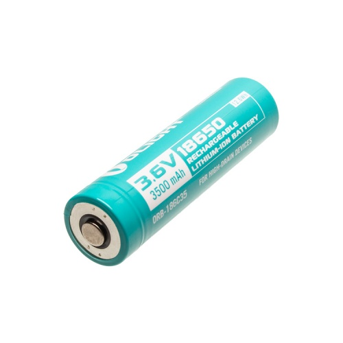 Spare 3500 mAh Rechargeable battery for Olight S30R II, S30R III, S2R, S2R II and R20