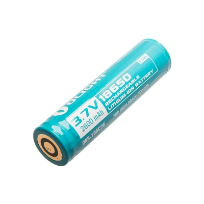 Spare battery for the Olight R20 Javelot Rechargeable Torch