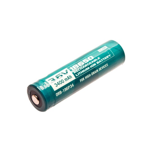 Olight 18650 3.6 V, 3400 mAh Li-ion Protected Battery