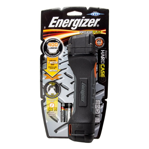 Energizer Hard Case Pro Project Plus 4 AA LED Torch