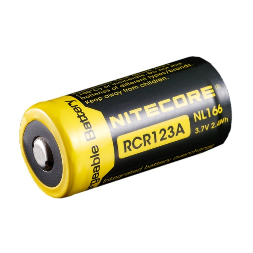 Nitecore RCR123A 3.7 V, 650 mAh Li-ion Protected Battery