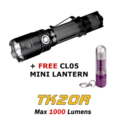 Fenix TK20R Rechargeable LED Torch