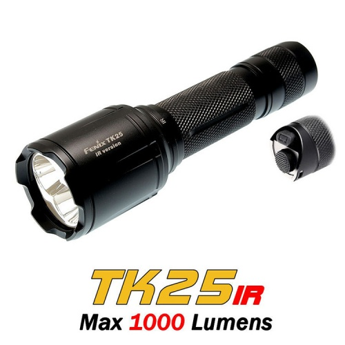 Fenix TK25 IR White Light and Infrared LED Torch