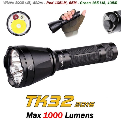 Fenix TK32 2016 Edition LED Torch