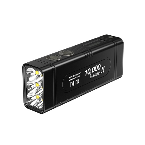 Nitecore TM10K Rechargeable LED Torch
