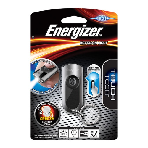 Energizer Touch Tech LED Key Ring Torch