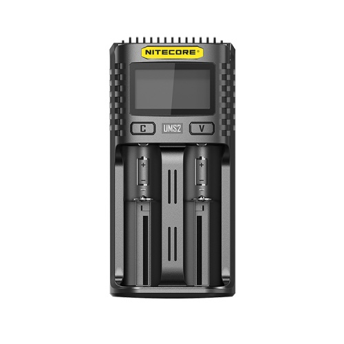 Nitecore UMS2 Dual Bay USB Li-ion/NiMH Battery Charger