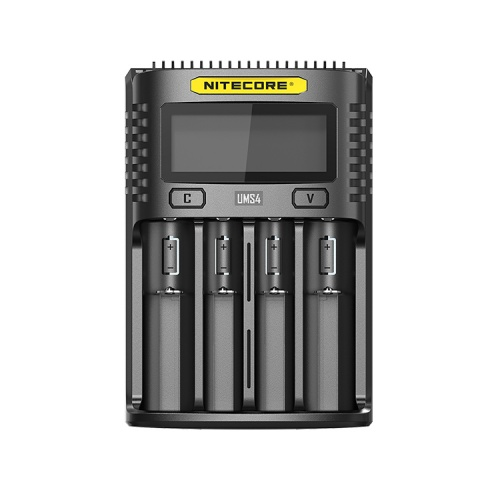 Nitecore UMS4 Four Bay USB Li-ion/NiMh Battery Charger