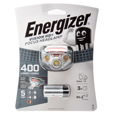 Energizer Vision HD+ Focus LED Head Torch