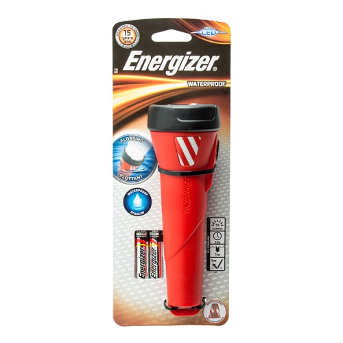 Energizer Waterproof 2 Cell AA LED Torch