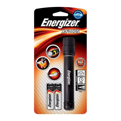 Energizer X-Focus 2 Cell AA LED Torch