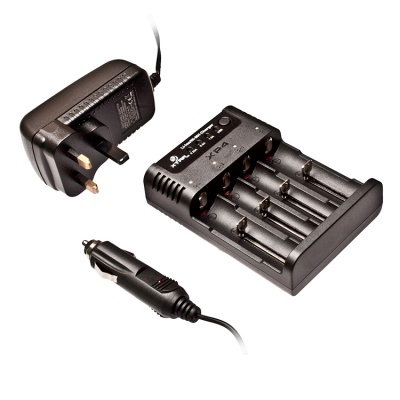 Xtar XP4 Four Bay NiMH / Li-ion Battery Charger