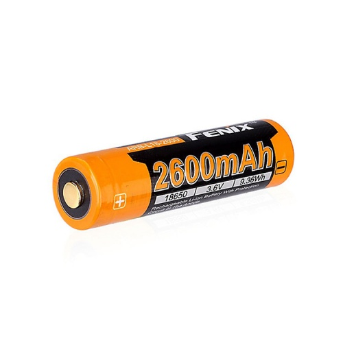 Fenix 18650 3.6 V, 2600 mAh Li-ion Protected Battery