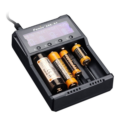 Fenix ARE-A4 Four Bay Li-ion/NiMH Battery Charger