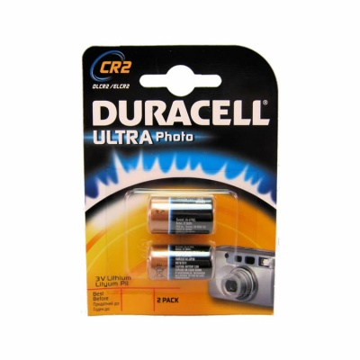 Duracell Ultra CR2 3 Volt Lithium Battery (2 Pack)