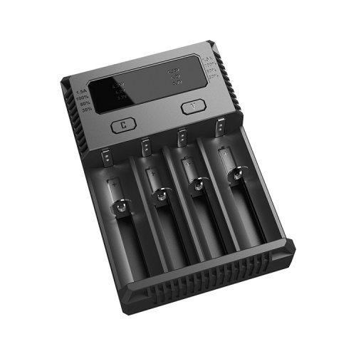Nitecore New i4 Intellicharger Four Bay Li-ion/NiMH Charger