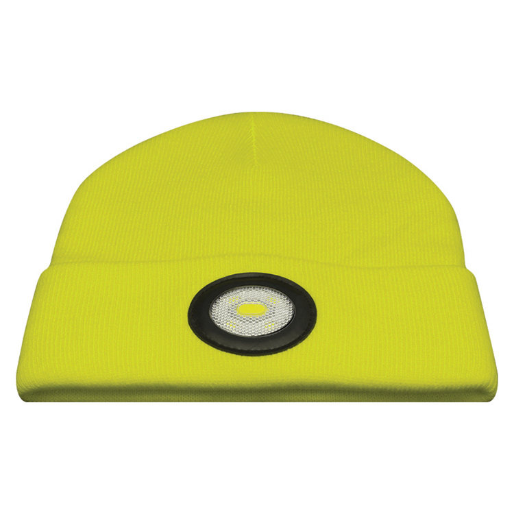 28b0aa91478 Unilite Beanie Hat Plus Rechargeable LED Light Yellow