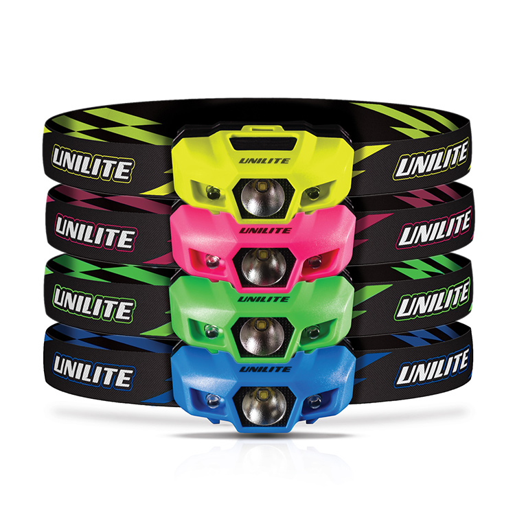 e101cb917a7 UniLite Sport-H1 Neon LED Head Torch