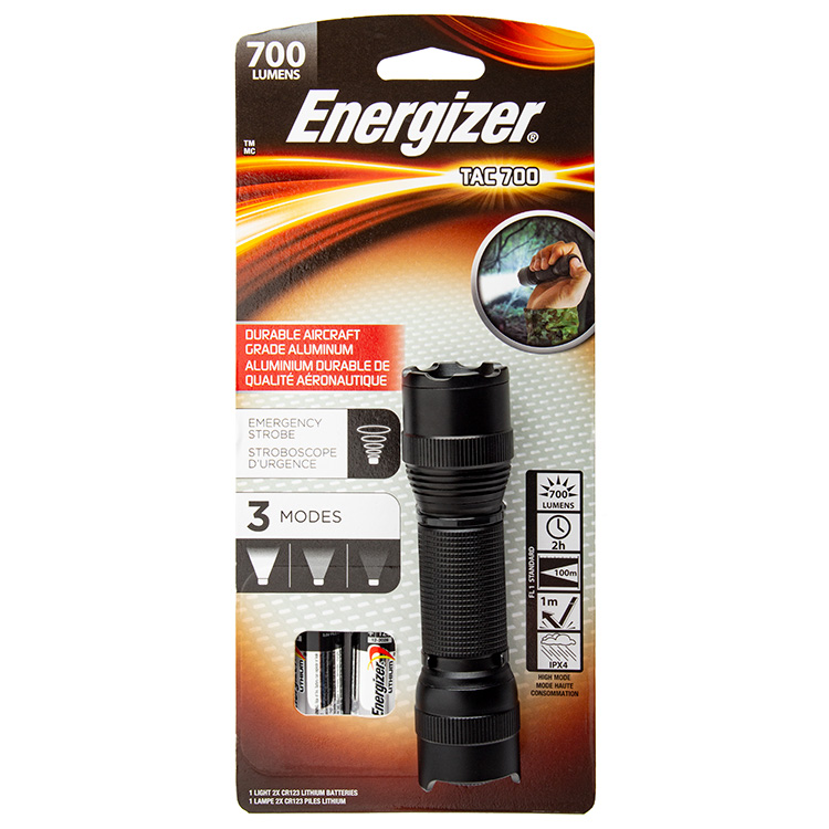 Energizer Tac 700 LED Torch