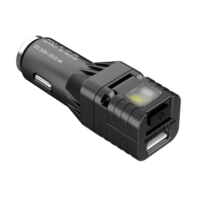 Car Light Torch LED Work Rechargeable Multi Function 5v USB Charge Alarm Mode
