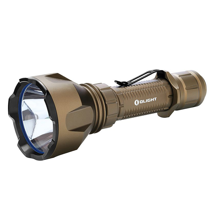 Olight Warrior X Turbo Rechargeable LED Torch (Limited Edition Desert Tan)