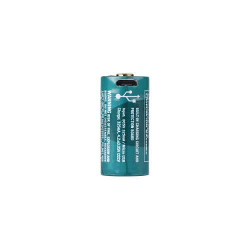 Olight 16340 USB Rechargeable 650 mAh Li-ion Protected Battery